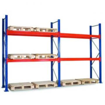 Heavy duty steel grating for shelf deck in car parts warehouse