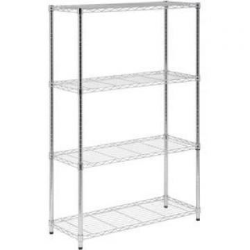 Commercial Metal Advertising Wire Display Stand Rack