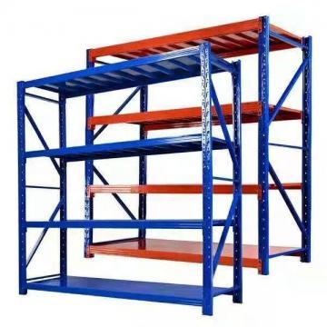 Heavy Supermarket/Warehouse Steel Metal Display Adjustable Rivet Rack Shelving