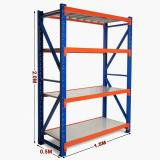 Industrial Multi-Tier Mezzanine Racking Heavy Duty Metal Shelving