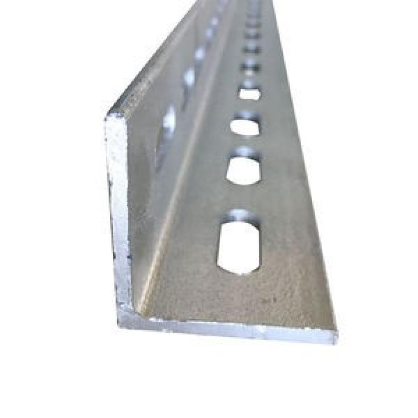 Ms Steel BS En S355j0 S355jr Galvanized Slotted Angle Bar Perforated L Shape Steel Bar #2 image
