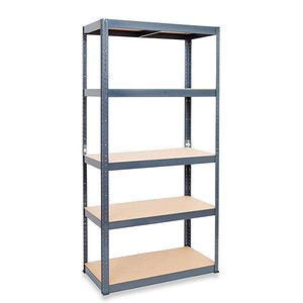 Galvanized and Powder Coated Q195 Slotted Angle Steel Bar Shelf #2 image