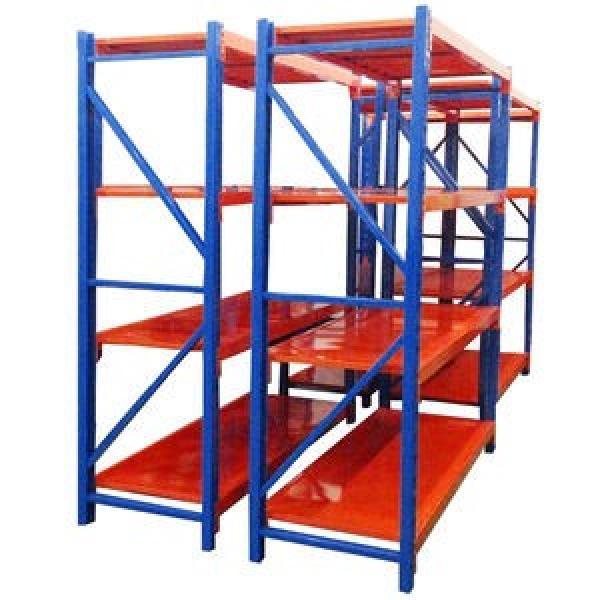 Heavy Duty Warehouse Storage Mobile Galvanized Rack Shelving #1 image