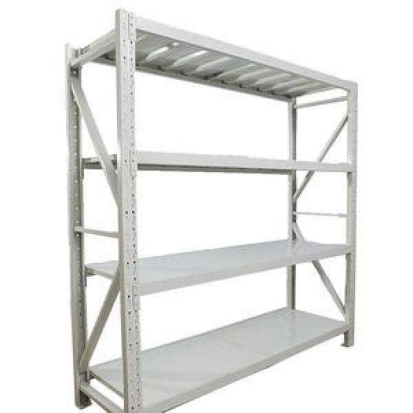 Durable Industrial Metal Steel Wire Shelving, Garage Warehouse Storage Rack Shelving with Wheel #3 image