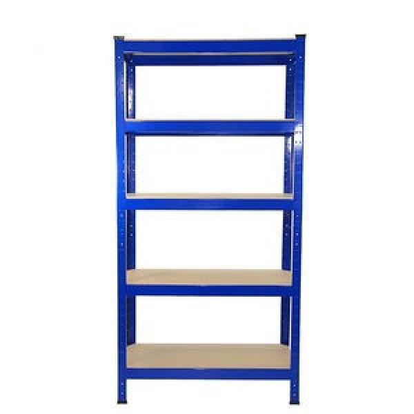 Industrial Heavy Duty Boltless Rivet Angle Teardrop Mezzanine Cantilever Metal Steel Warehouse Pallet Storage Shelf #2 image