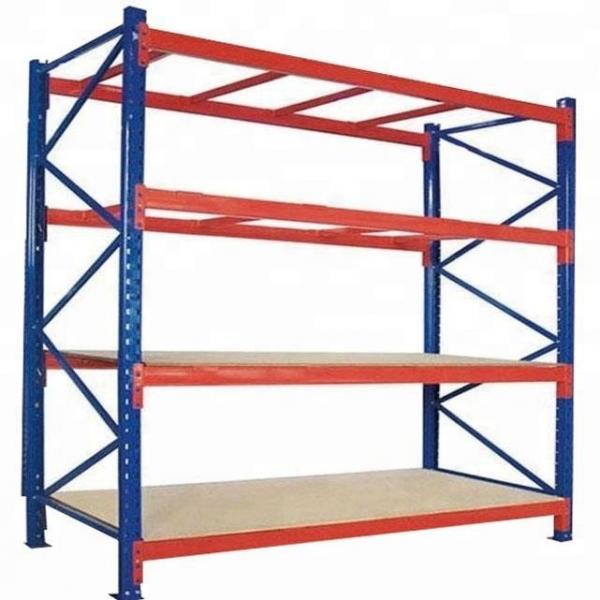 Warehouse Heavy Duty Multi Shelves Racking System Steel Mezzanine Storage Rack #2 image