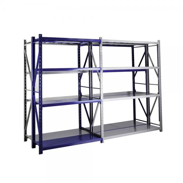 Garage Storage Economical Medium Duty Steel Long Span Shelving Warehouse Storage Rack #1 image