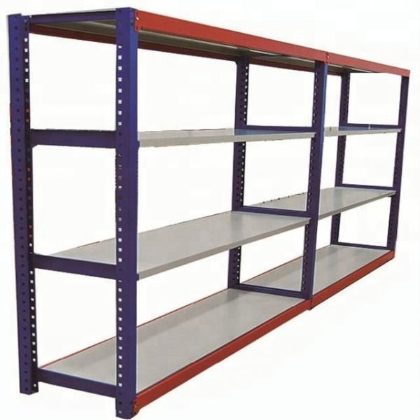 Warehouse Heavy Duty Multi Shelves Racking System Steel Mezzanine Storage Rack #3 image