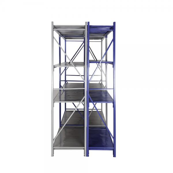Warehouse Heavy Duty Multi Shelves Racking System Steel Mezzanine Storage Rack #1 image