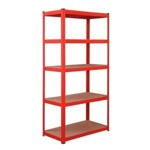 Industrial Heavy Duty Boltless Rivet Angle Teardrop Mezzanine Cantilever Metal Steel Warehouse Pallet Storage Shelf #1 image