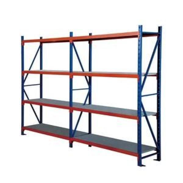 Industrial Heavy Duty Boltless Rivet Angle Teardrop Mezzanine Cantilever Metal Steel Warehouse Pallet Storage Shelf #1 image