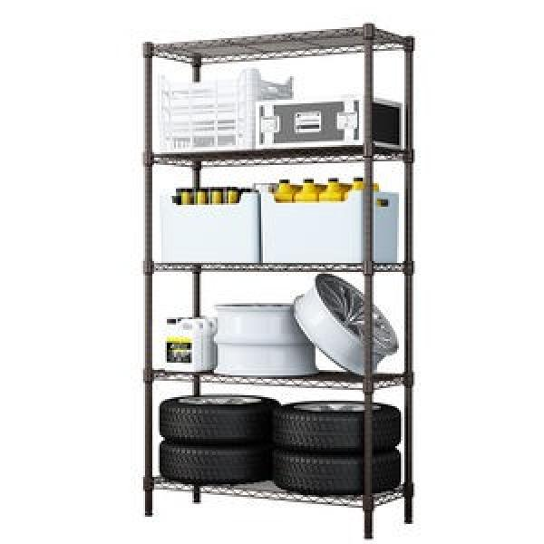 Rolling NSF 4 Tier Chrome Steel Commercial Restaurant Kitchen Food Storage Wire Shelving Rack Factory #3 image