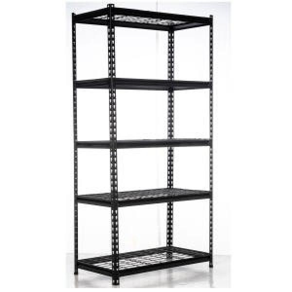 Metal Grocery Store Gondola Supermarket Shelf #1 image
