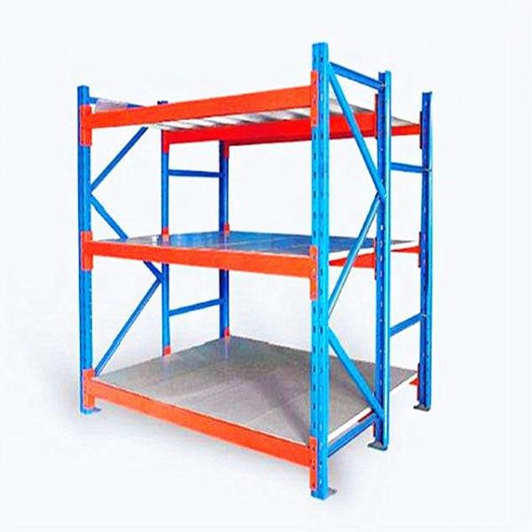 Supermarket Warehouse Cold Room Plastic Freestanding Shelving Unit with Steel Core #3 image