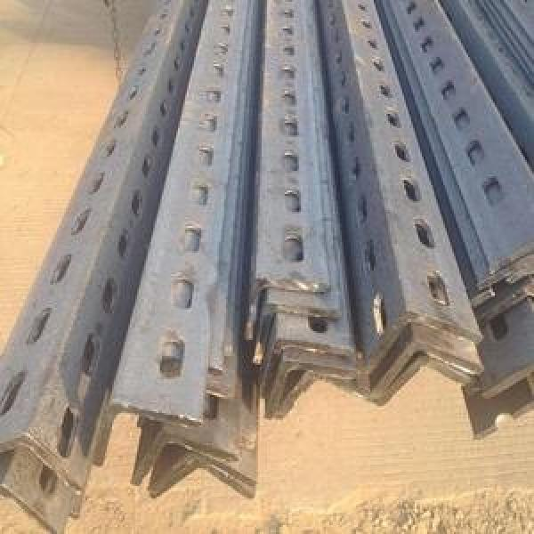 Ms Steel BS En S355j0 S355jr Galvanized Slotted Angle Bar Perforated L Shape Steel Bar #3 image