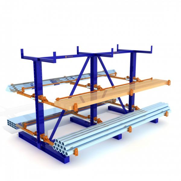 Bear 1200kg Heavy Duty Commercial Industrial Adjustable Grid Storage Shelving #2 image